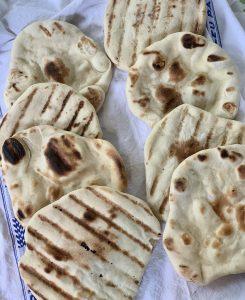 Grilled Pita